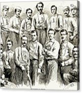 Baseball Teams, 1866 Acrylic Print