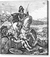 Battle Of Agincourt, 1415 Acrylic Print