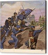Battle Of Churubusco, 1847 Acrylic Print