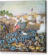 Battle Of Williamsburg Acrylic Print