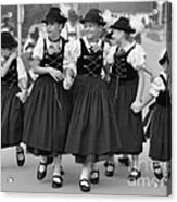 Bavarian Girls Acrylic Print