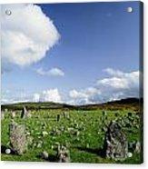 Beaghmore Stone Circles, Co. Tyrone Acrylic Print