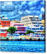 Beautiful Bermuda Acrylic Print