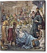 Belshazzars Feast Acrylic Print