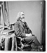 Benjamin Peirce, American Mathematician Acrylic Print