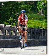 Bicycle Ride Across Georgia Acrylic Print