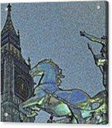 Big Ben And Boadicea  Acrylic Print