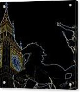 Big Ben And Boudica Acrylic Print