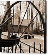 Big Wheel Acrylic Print