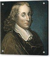Blaise Pascal (1623-1662) Acrylic Print