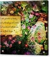 Bloom Home Acrylic Print