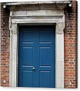 Blue Irish Door Acrylic Print