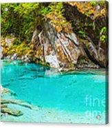Blue Pools Acrylic Print by MotHaiBaPhoto Prints