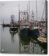 Boat Reflections Acrylic Print