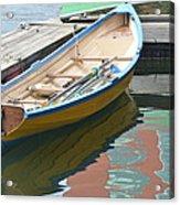 Boats Of Boston Harbor Acrylic Print by Susan McNamara
