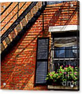 Boston House Fragment Acrylic Print