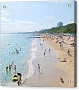 Bournemouth Beaches Acrylic Print