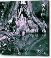 Boys By The River Acrylic Print
