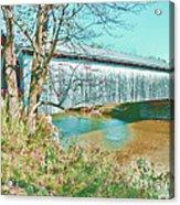 Bridge In Montgomery Acrylic Print