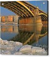 Bridge Acrylic Print by Odon Czintos