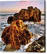 Brighton Beach Wa Acrylic Print by Imagevixen Photography