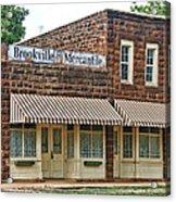 Brookville Mercantile Acrylic Print