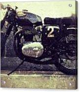 Bsa Motorbike Acrylic Print