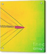 Bullet Through Air Acrylic Print by Omikron