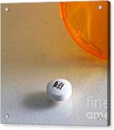 Bupropion Hydrochloride Acrylic Print