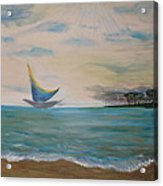 Butterfly Sails Acrylic Print