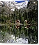Cabins, Sargents Point, Lake Ohara Acrylic Print
