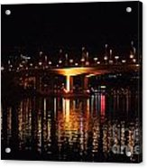 Cambie Street Bridge Acrylic Print