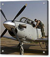 Camp Speicher, Iraq - U.s. Air Force Acrylic Print