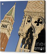 Campanile. Plazza San Marco. Venice Acrylic Print