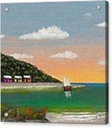 Canary Cove Acrylic Print