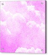 Candy Mountain Acrylic Print