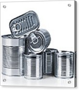 Canned Food Acrylic Print