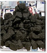 Carbon Trading, Conceptual Image Acrylic Print