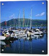 Carlingford Yacht Marina, Co Louth Acrylic Print
