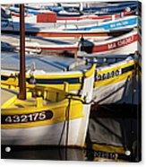 Cassis Boats Acrylic Print