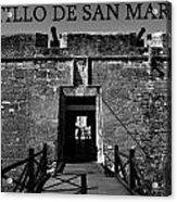 Castillo De San Marcos Acrylic Print by David Lee Thompson