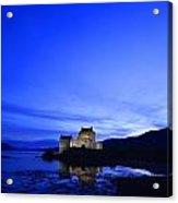 Castle In Scotland Acrylic Print