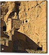 Cave Dwellings Acrylic Print