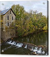 Cedar Point Mill Acrylic Print