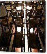 Chairs Acrylic Print
