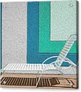 Chaising Acrylic Print by Paul Wear