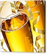 Champagne Glasses Acrylic Print