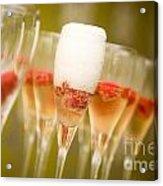 Champagne Acrylic Print by Kati Molin