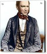 Charles Darwin, British Naturalist Acrylic Print
