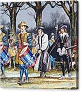 Charles I's Last Walk Acrylic Print